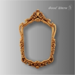 WD-174 Faux wood decorative moulding mirror frame for sale