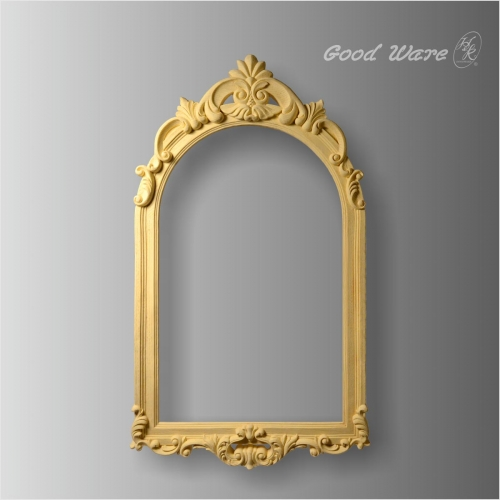 Faux wood large vintage mirror frames for sale