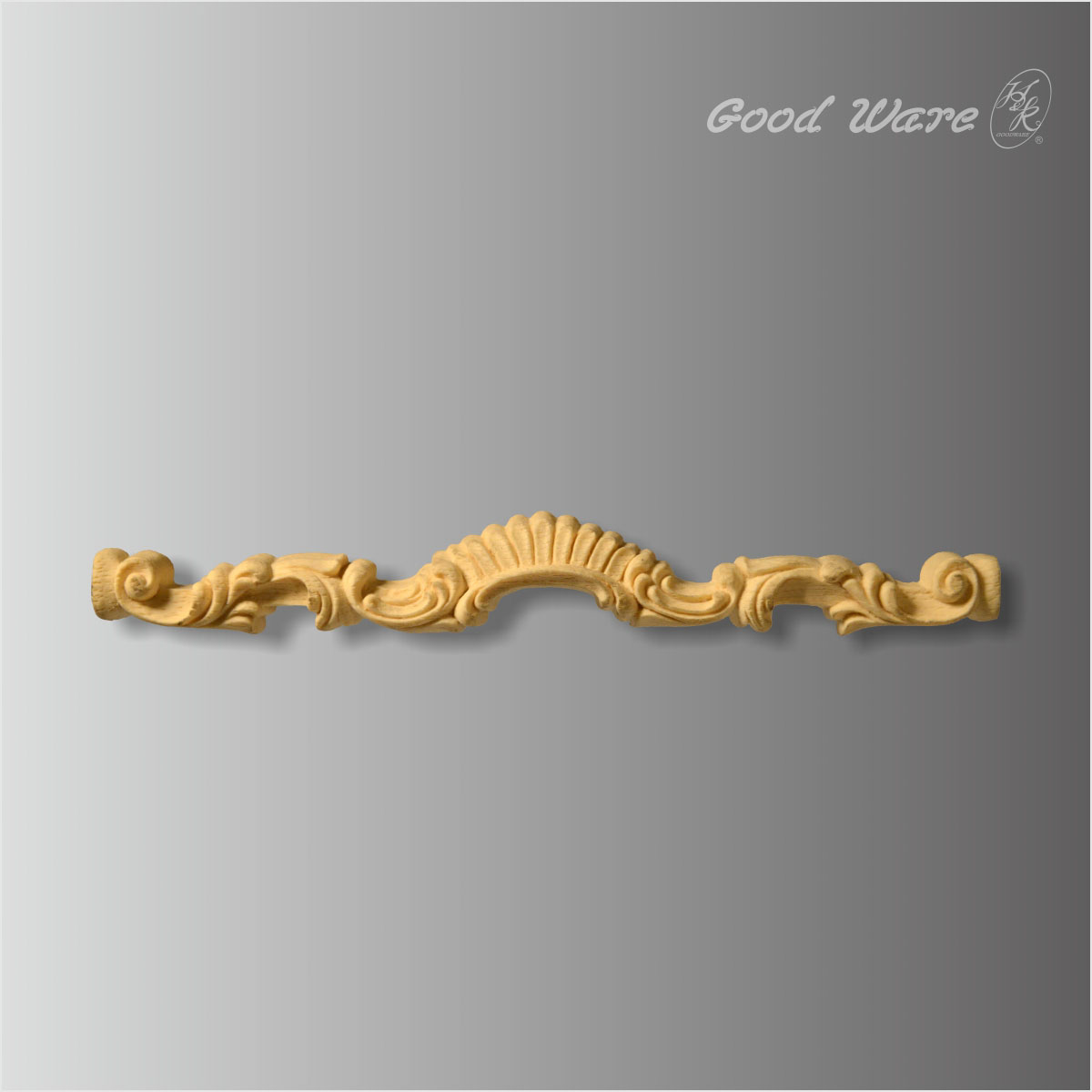 Polyurethane Furniture Decorative Mouldings Applique Onlay For Sale