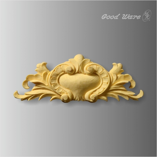 Polyurethane scroll leaf corner rosettes for sale for Decorative wood onlays