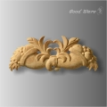 Furniture decor molding applique onlays
