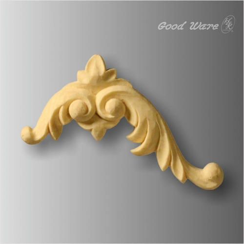 Polyurethane chic mouldings for furniture