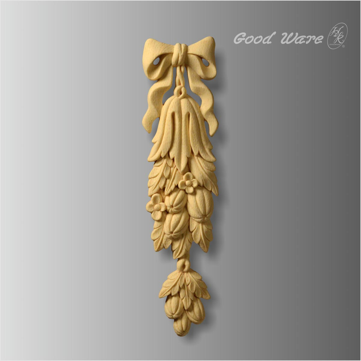 Faux wood decorative wardrobe mouldings