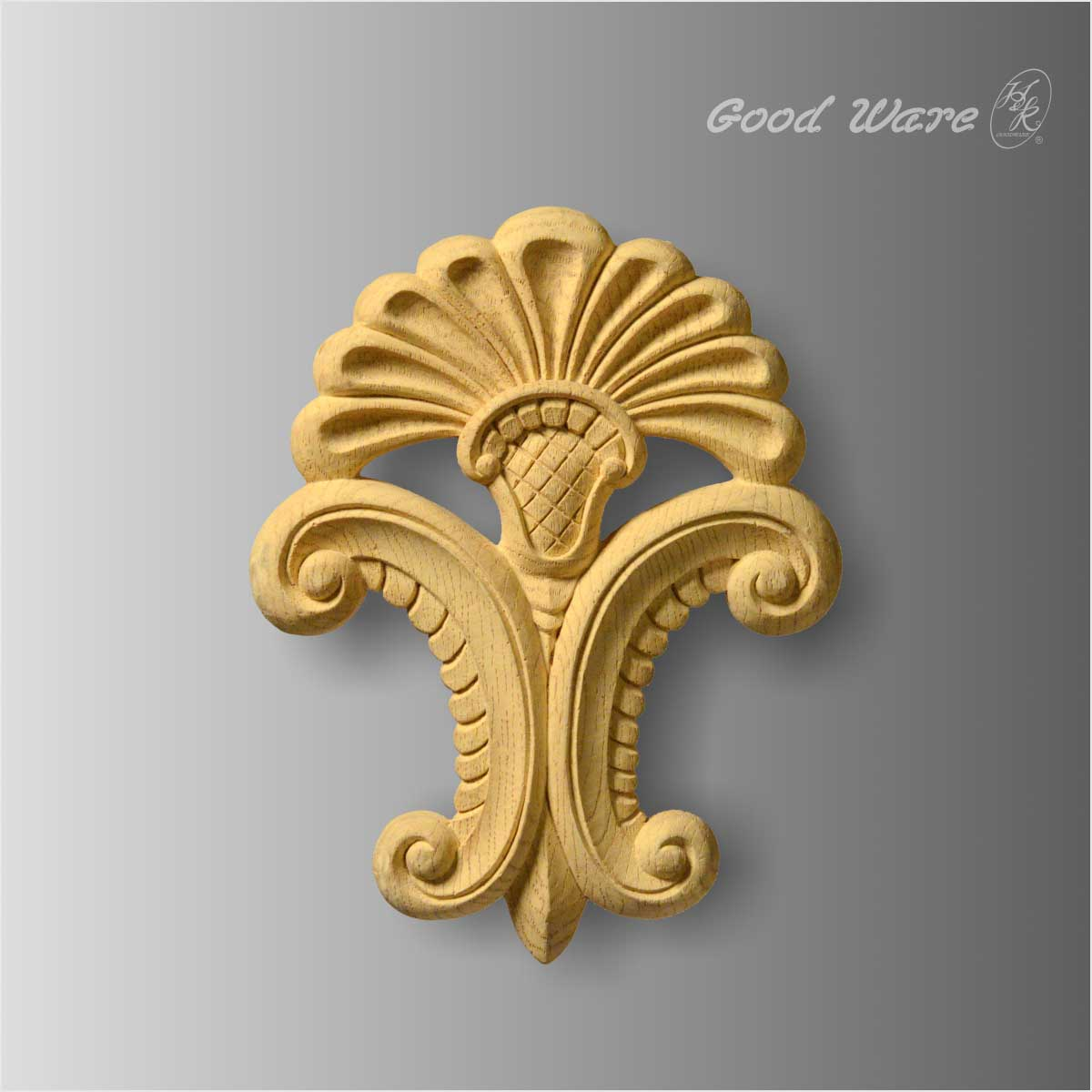 Polyurethane decorative faux wood appliques for sale