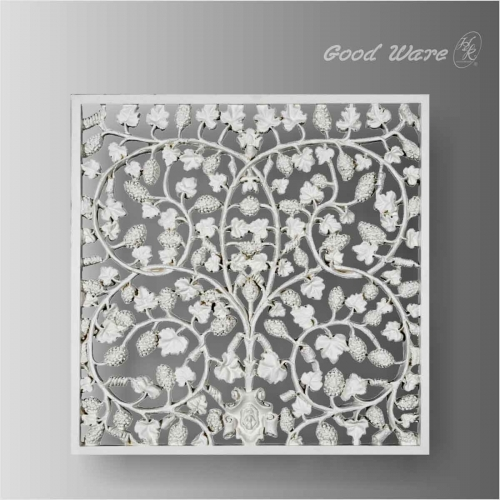 Pierced decorative interior wall paneling