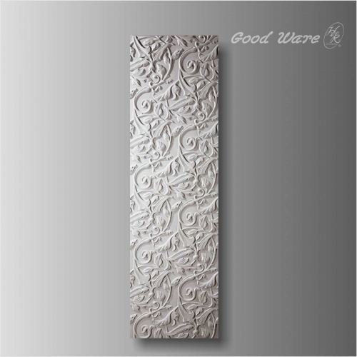 Polyurethane carved wall decor panel for sale