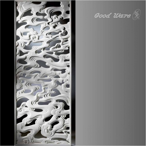 Polyurethane pierced decorative room dividers
