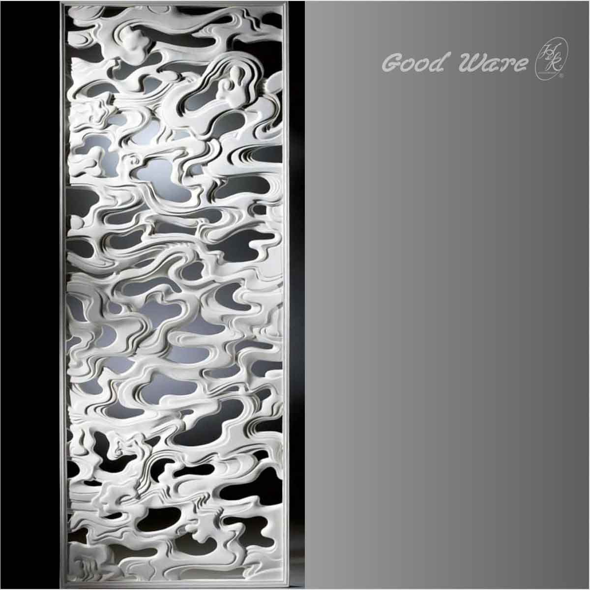 Decorative white room panel dividers for sale