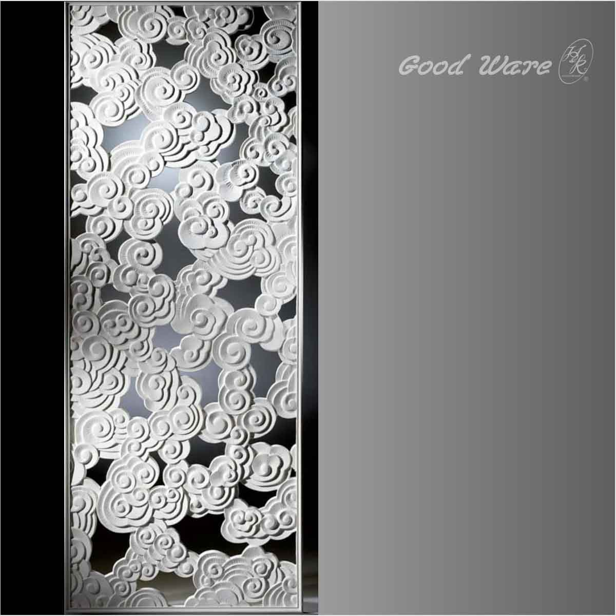 Polyurethane decorative wall dividers for rooms