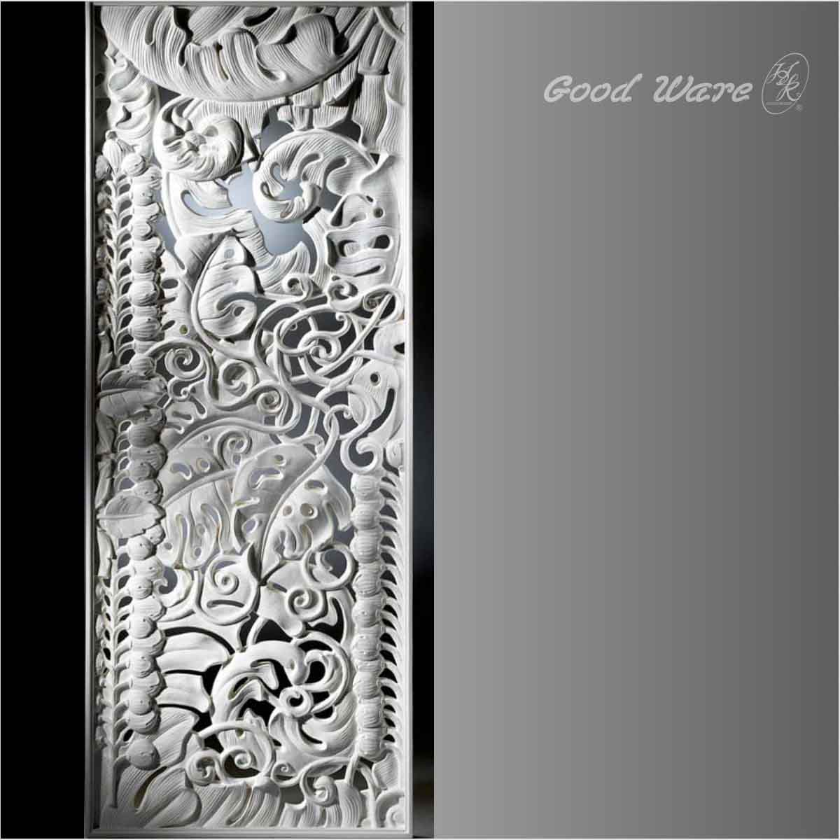 Polyurethane carved wall panel board for sale