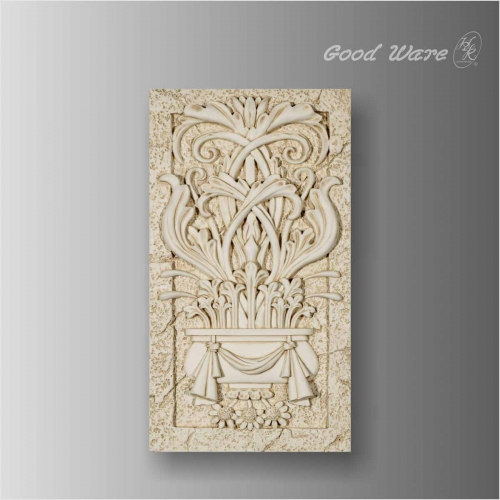 Decorative baroque wall panels for living room