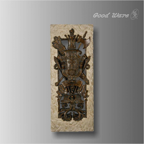 Baroque style faux stone decorative room panels for sale