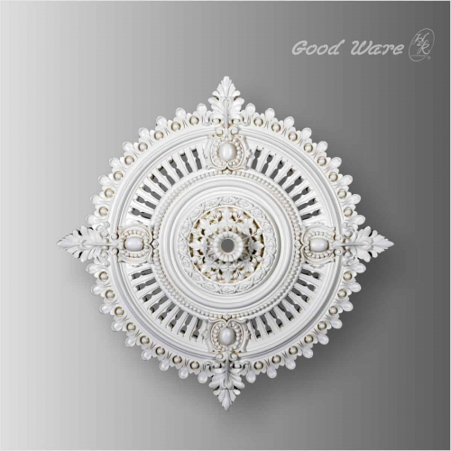 Polyurethane decorative victorian ceiling rose