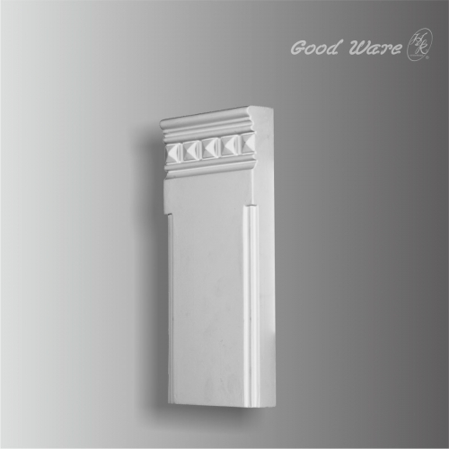 pilaster decorative plinth block moulding