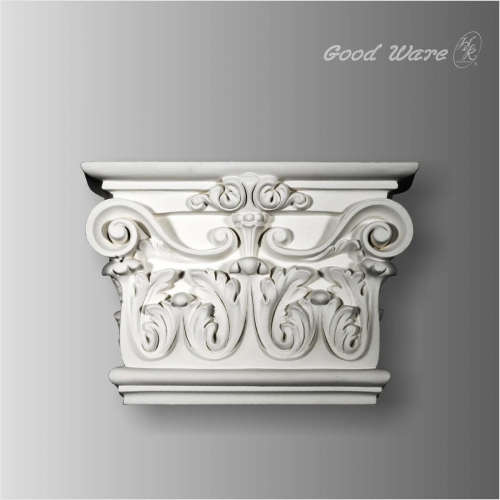 Decorative pilaster column capital for sale