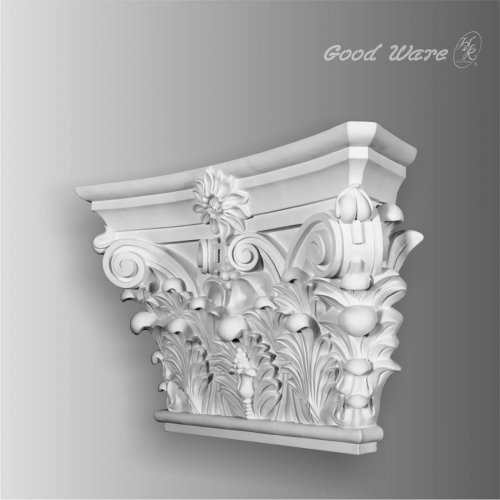 Large polyurethane pilaster Capital for sale