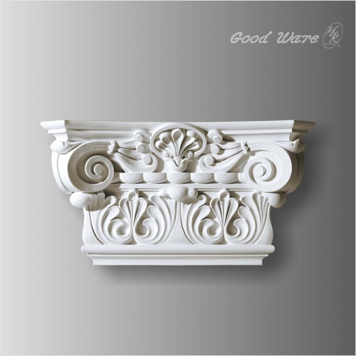 Polyurethane decorative pilaster caps for sale