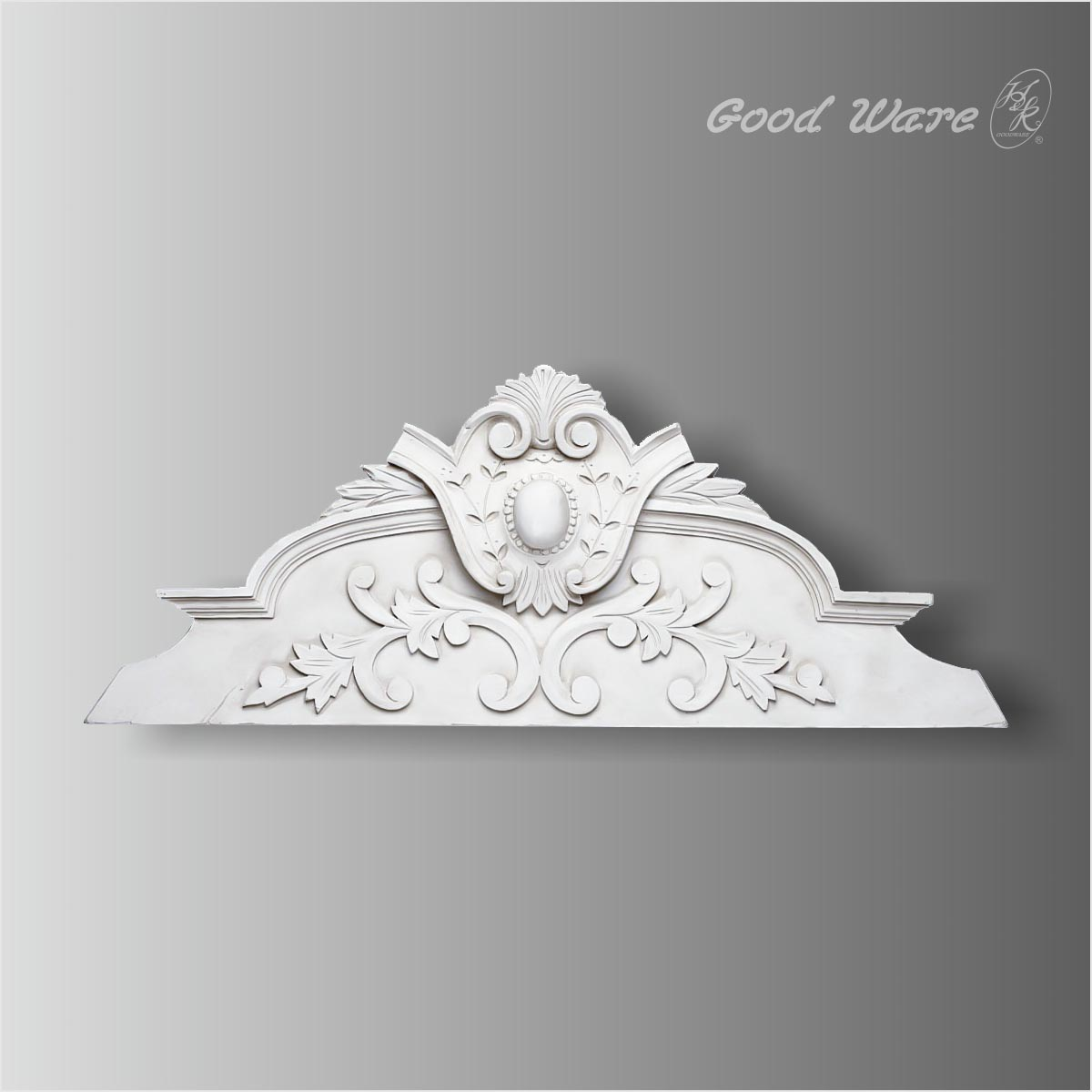Polyurethane dining area wall decor molding