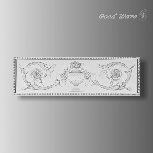 Polyurethane decorative large wall plaques
