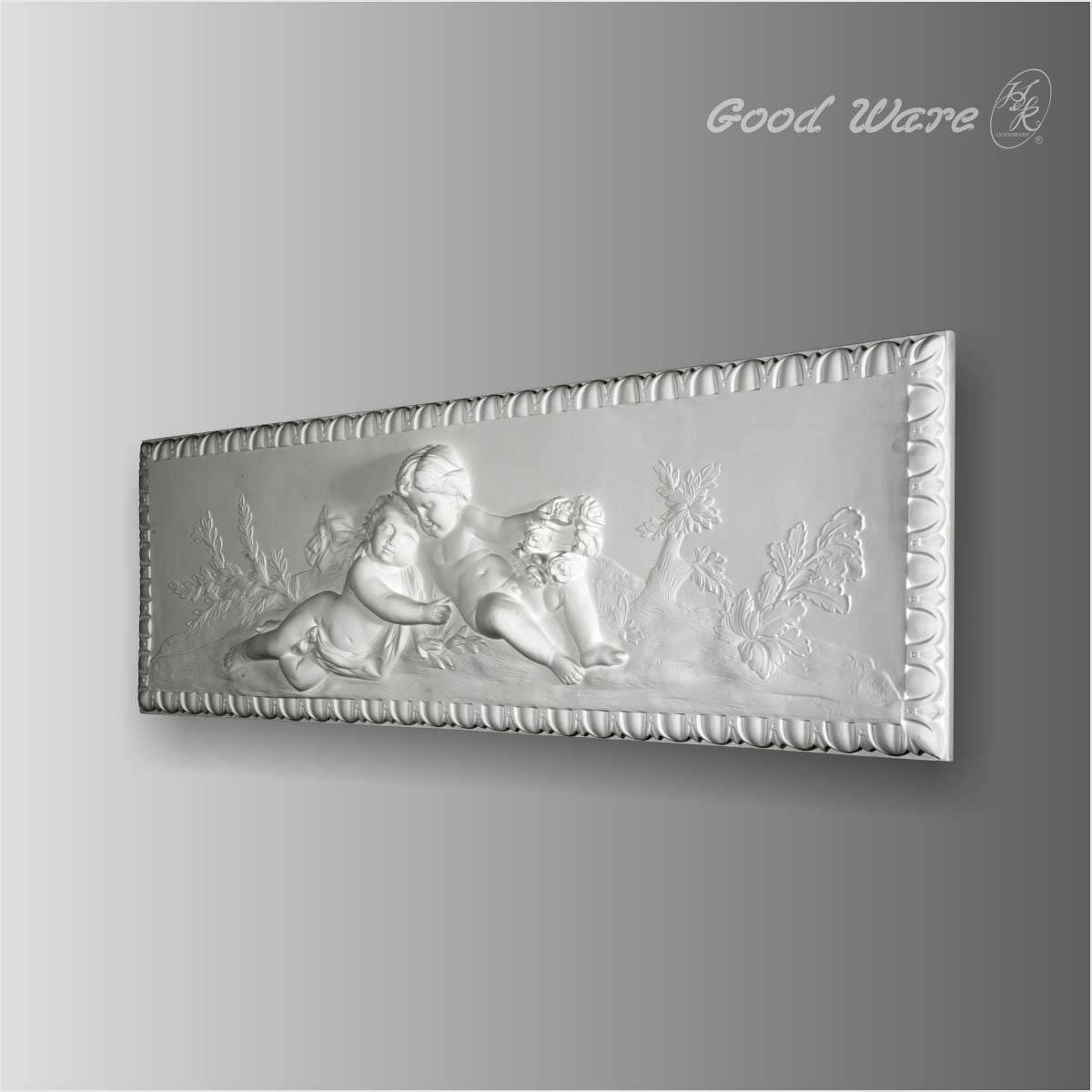 Polyurethane antique decorative wall plaques