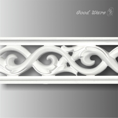 Polyurethane scroll pierced frieze mouldings and trim