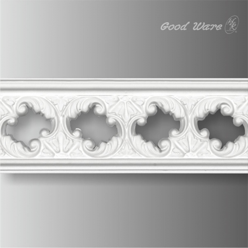 pierced chair rail ornate trim molding for sale