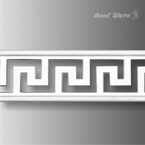 Pierced greek key chair trim molding for sale