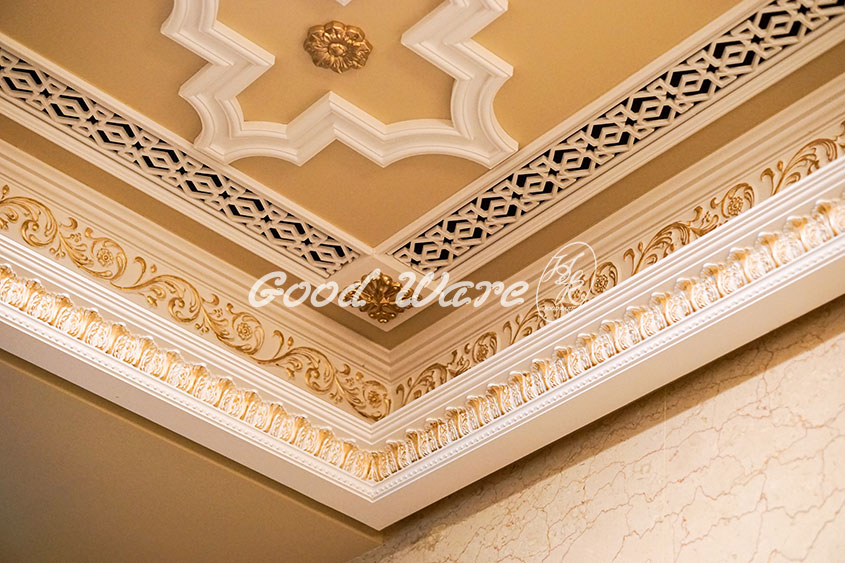 crown molding styles and applications, Dentil crown molding, Egg and Dart Crown Molding, H&K Goodware Crown molding, Interior Crown Molding, Polyurethane crown molding