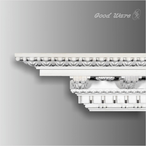crown molding with corner blocks